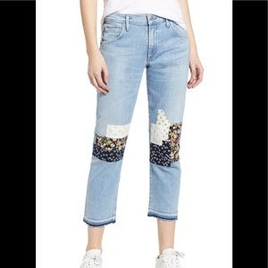 Citizens Emerson crop slim boyfriend jeans, 28,new